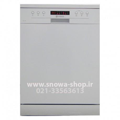 ماشین ظرفشویی مدل SWD-140W اسنوا ظرفیت 14 نفره 168 پارچه