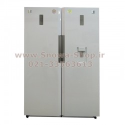 یخچال و فریزر دوقلو دوو الکترونیک D2LR-0020MW D2LF-0020MW  سایز 38 فوت Freezer Daewoo Electronics Twin Refrigerator