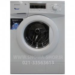 ماشین لباسشویی مدل SWD-271WN اسنوا ظرفیت 7کیلوگرم Snowa Washing Machine