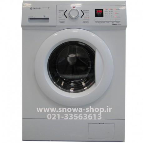 ماشین لباسشویی مدل SWD-181W اسنوا ظرفیت 8 کیلوگرم