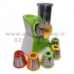 سالاد ساز و رنده برقی بیشل مدل Bishel Salad Maker BL-FP-006