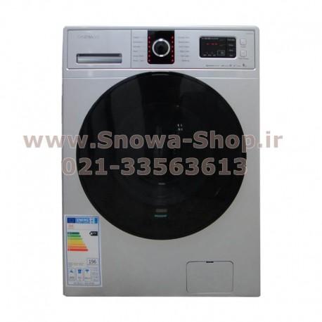 ماشین لباسشویی DWK-8614S دوو 8 کیلویی نقره ای Daewoo Electronics Washing Machine