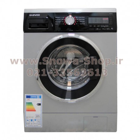 ماشین لباسشویی دوو DWK-8514S ظرفیت 8 کیلویی Daewoo Washing Machine