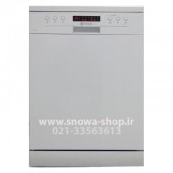 ماشین ظرفشویی SWD-146W اسنوا ظرفیت 14 نفره 168 پارچه Snowa