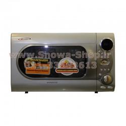 مایکروفر DEM-341B0K-PS دوو الکترونیک 34 لیتری Daewoo Electronics Microwave Oven