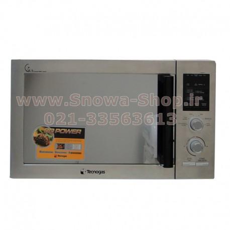 مایکروفر TGM-9N8TS تکنوگاز ظرفیت 30 لیتر Tecnogas Microwave Oven
