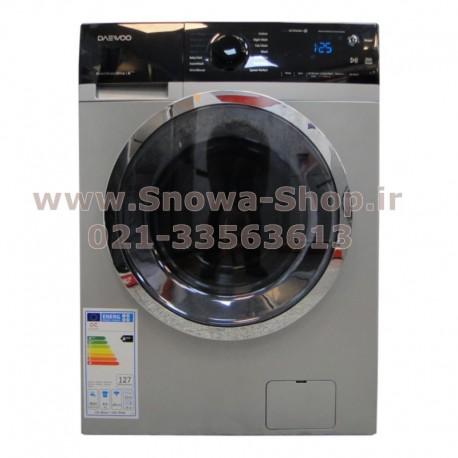 ماشین لباسشویی DWK-8142S دوو الکترونیک 8 کیلویی نقره ای Daewoo Electronics Washing Machine