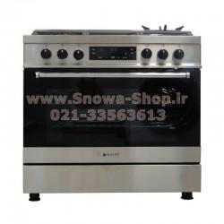 اجاق گاز اسنوا سری والنتینو تمام استیل دیجیتال اسنوا Valentino Digital SGC5-6111N Snowa