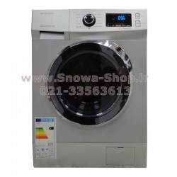 ماشین لباسشویی DWK-7414S دوو الکترونیک 7 کیلویی نقره ای Daewoo Electronics Washing Machine