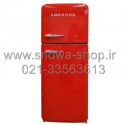 یخچال فریزر امرسان قرمز 16 فوت کلاسیک طرح اسمگ Emersun Classic Refrigerator R600 Red