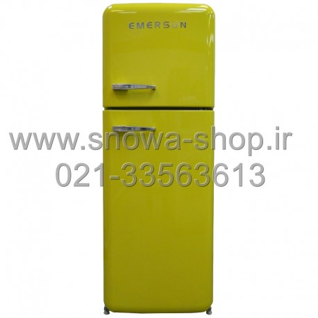 یخچال فریزر امرسان زرد 16 فوت کلاسیک طرح اسمگ Emersun Classic Refrigerator R600 Yellow