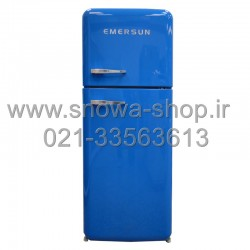 یخچال فریزر امرسان آبی 16 فوت کلاسیک طرح اسمگ Emersun Classic Refrigerator R600 Blue