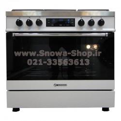 اجاق گاز اسنوا سری والنتینو لعاب دیجیتال اسنوا Valentino Digital SGC5-6112 Snowa