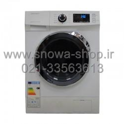 ماشین لباسشویی DWK-7414C دوو الکترونیک 7 کیلویی سفیذ ذرب کروم Daewoo Electronics Washing Machine