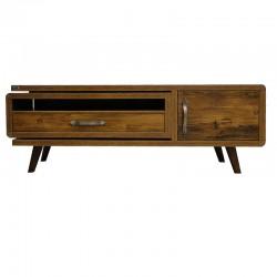 میز تلویزیون ونوس مدل لاله کلاسیک آنتیک طلایی Venus