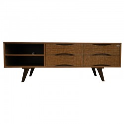 میز تلویزیون ونوس مدل راش کلاسیک آنتیک طلاییVenus