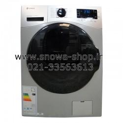 ماشین لباسشویی مدل SWM-84608 Wash in Wash نقره ای اسنوا ظرفیت 8 کیلوگرم Snowa Add Wash