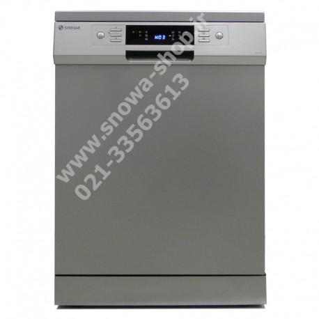 ماشین ظرفشویی مدل SWD-148S اسنوا ظرفیت 14 نفره 168 پارچه Snowa