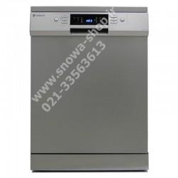 ماشین ظرفشویی مدل SWD-148T اسنوا ظرفیت 14 نفره 168 پارچه Dishwasher Snowa
